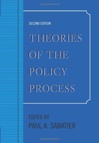 9780813343594: Theories of the Policy Process, Second Edition