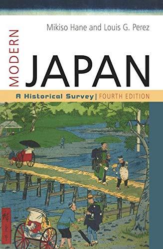 9780813344096: Modern Japan: A Historical Survey