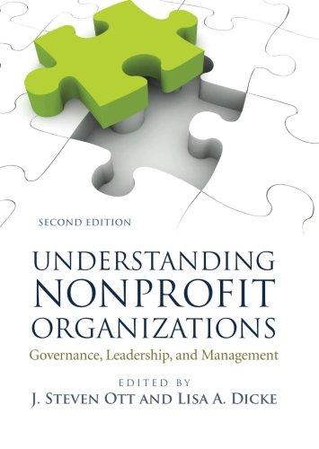 9780813344683: Understanding Nonprofit Organizations: Governance, Leadership, and Management
