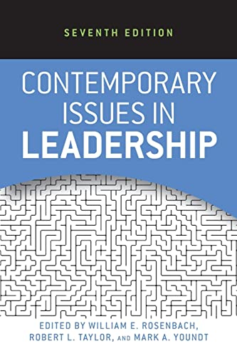 9780813345574: Contemporary Issues in Leadership