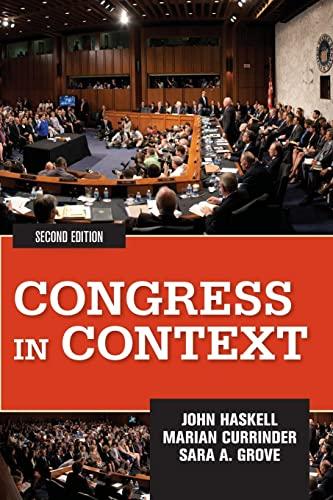 9780813347561: Congress in Context