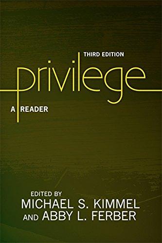 9780813348711: Privilege: A Reader