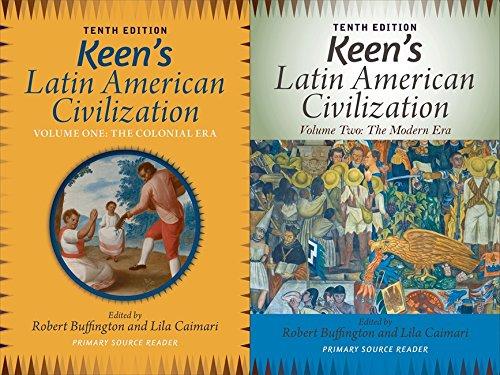 9780813348933: Keen's Latin American Civilization, 2-Volume SET: A Primary Source Reader
