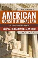 9780813349015: American Constitutional Law, 2-Volume Set
