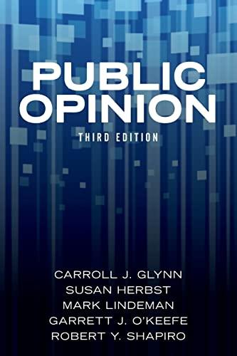 9780813349404: Public Opinion