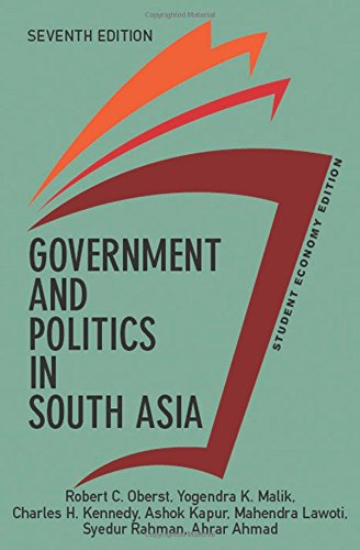 9780813350158: Government and Politics in South Asia: Economy Edition