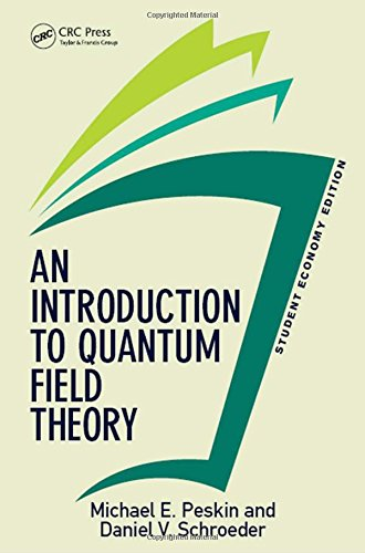 9780813350196: An Introduction To Quantum Field Theory, Student Economy Edition (Frontiers in Physics)
