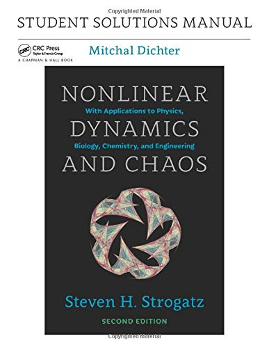 9780813350547: Student Solutions Manual for Nonlinear Dynamics and Chaos, 2nd edition