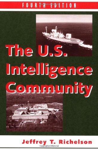 9780813368931: The U.S. Intelligence Community Fourth Edition