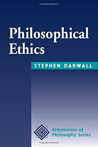 9780813378596: Philosophical Ethics (Dimensions of Philosophy)