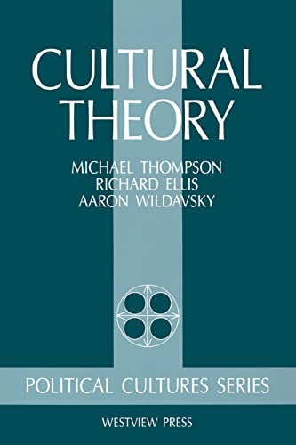 9780813378640: Cultural Theory (Political Cultures Series)