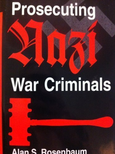 9780813383576: Prosecuting Nazi War Criminals
