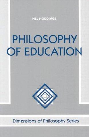 9780813384306: Philosophy of Education