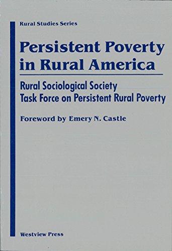 9780813387123: Persistent Poverty In Rural America (Rural Studies Series of the Rural Sociological Society)