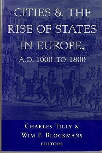 9780813388496: Cities and the Rise of States in Europe, AD 1000 to 1800