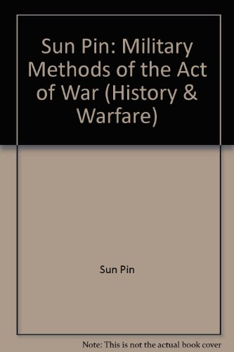 9780813388878: Sun Pin: Military Methods (History and Warfare)