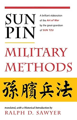 9780813388885: Sun Pin: Military Methods