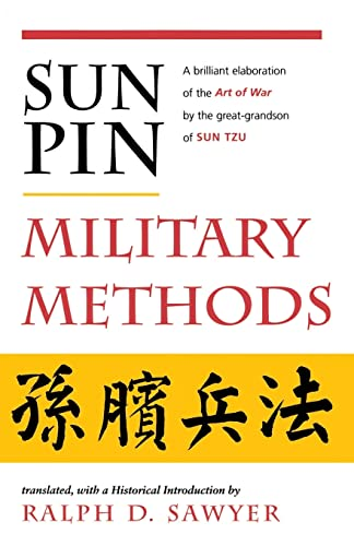 Sun Pin: Military Methods (History and Warfare) (0813388880) by Ralph D. Sawyer