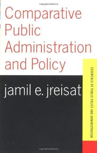 9780813398037: Comparative Public Administration