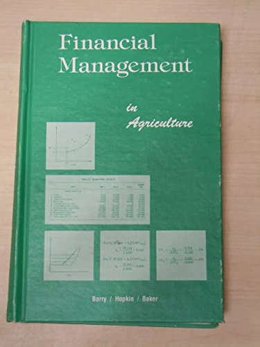 9780813422916: Financial management in agriculture