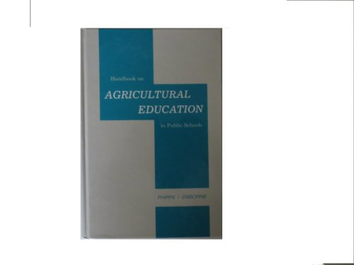 9780813427744: Handbook on Agricultural Education in Public Schools (5th Edition)