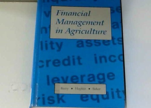 9780813427904: Financial Management in Agriculture