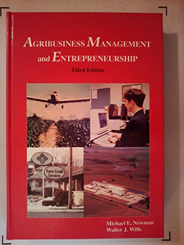 9780813429557: Agribusiness Management and Entrepreneurship