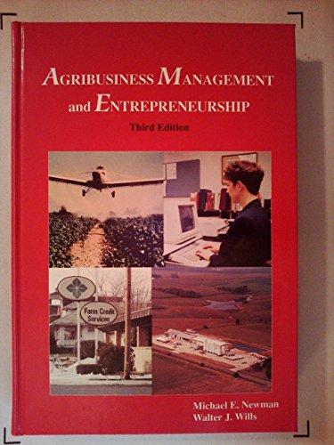 9780813429557: Agribusiness Management and Entrepreneurship