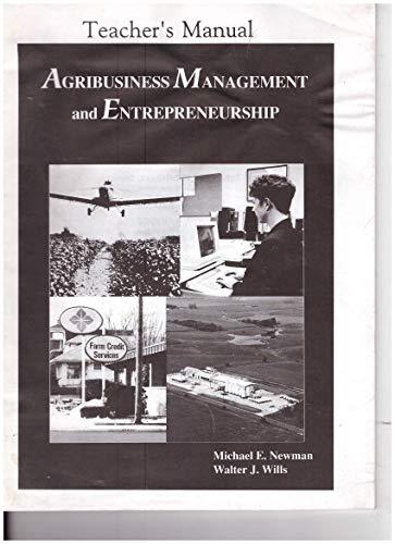 9780813429564: Agribusiness Management and Entrepreneurship