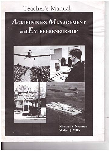 9780813429564: Agribusiness Management and Entrepreneurship