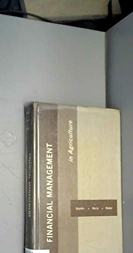 9780813429717: Financial Management in Agriculture