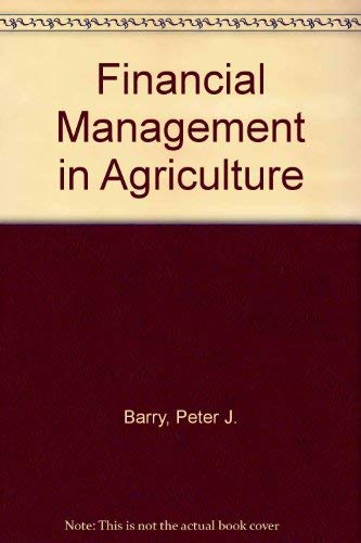 9780813429793: Financial Management in Agriculture Study Guide and Casebook