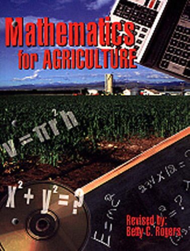 Mathematics for Agriculture (2nd Edition): Betty C. Rogers