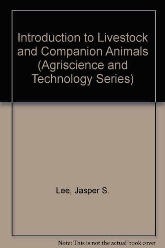 9780813431772: Introduction to Livestock and Companion Animals (Agriscience and Technology Series)