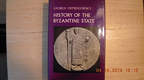 9780813505992: History of the Byzantine State