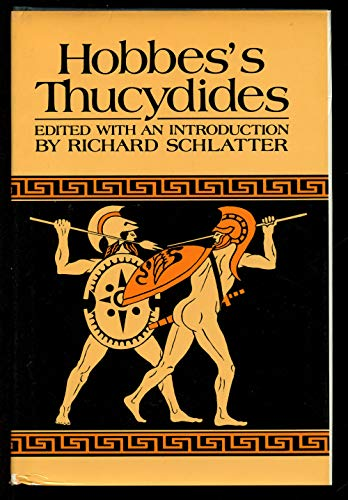Hobbes's Thucydides: Schlatter, Richard (Edited by)