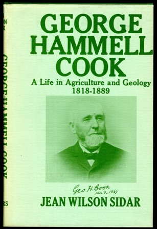 George Hammell Cook, A Life in Agriculture: Jean Wilson Sidar