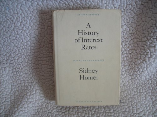 9780813508405: History of Interest Rates