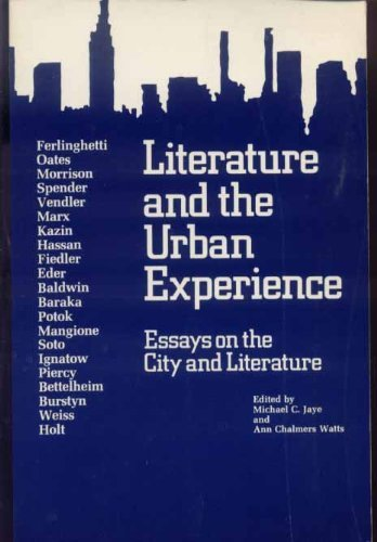 9780813509303: Lit & The Urban Experience