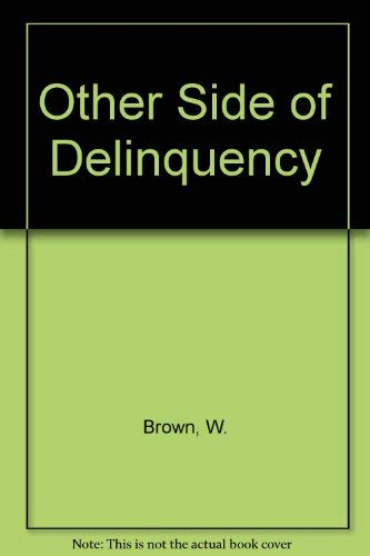9780813509938: The Other Side of Delinquency (Crime, law, and deviance series)