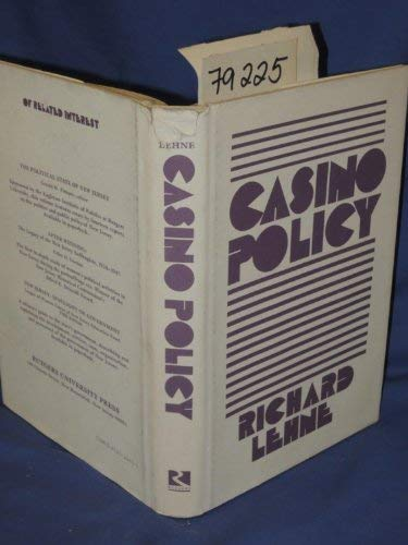 Casino Policy: Richard Lehne