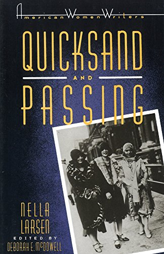 9780813511702: Quicksand and Passing (American Women Writers)
