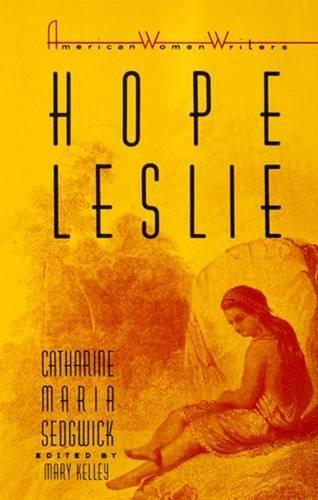 9780813512211: Hope Leslie (American Women Writers Series)