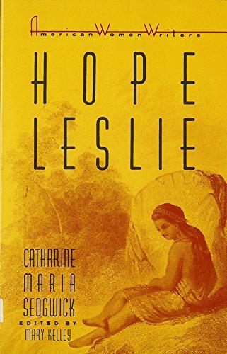 9780813512228: Hope Leslie (American Women Writers)