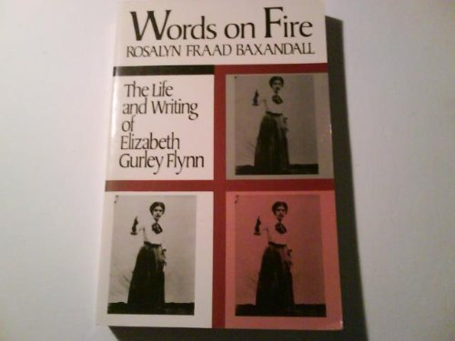 9780813512419: Words On Fire (Douglas Series on Womans Lives and the Meaning of Gender)