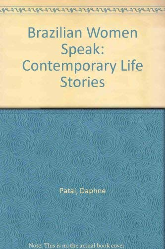 9780813513003: Brazilian Women Speak: Contemporary Life Stories