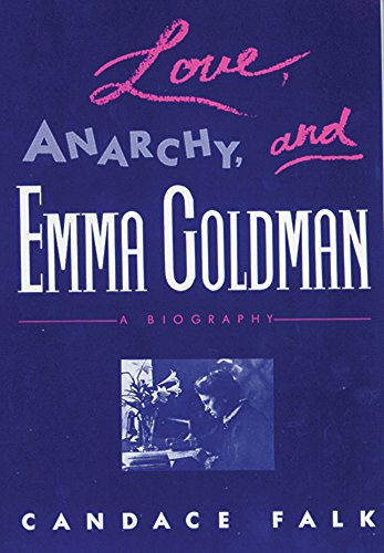 9780813515137: Love, Anarchy, and Emma Goldman: A Biography