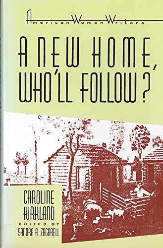 9780813515427: A New Home, Who'll Follow? (American Women Writers Series)
