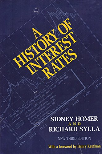 9780813516288: A History of Interest Rates