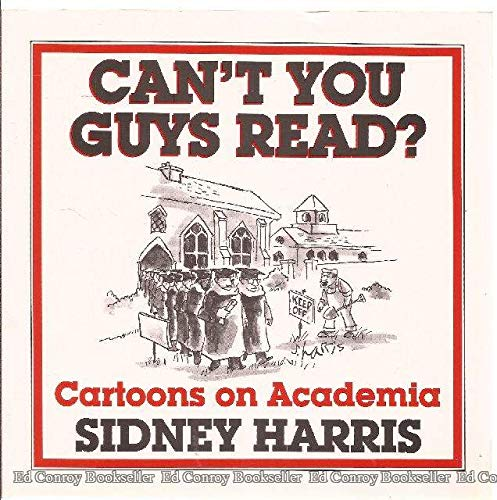 9780813517339: Can't You Guys Read? Cartoons on Academia